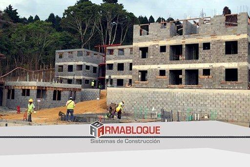 Armabloque es un sistema de construcción ecológico 3