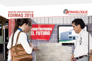 Participación de Armabloque en EDIMAQ 2018